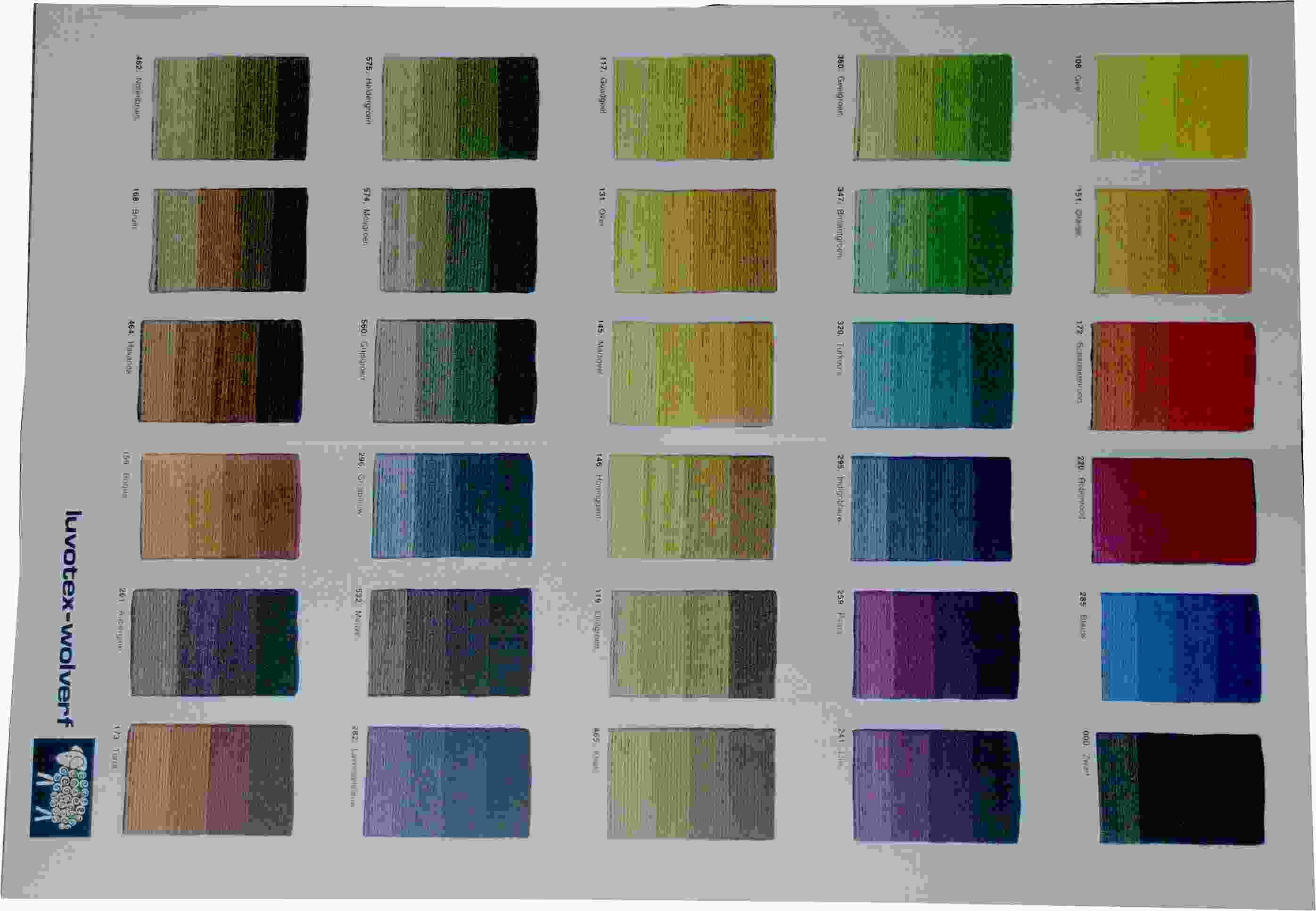 luvotex farbkarte wolle f rben g nstig kaufen. Black Bedroom Furniture Sets. Home Design Ideas