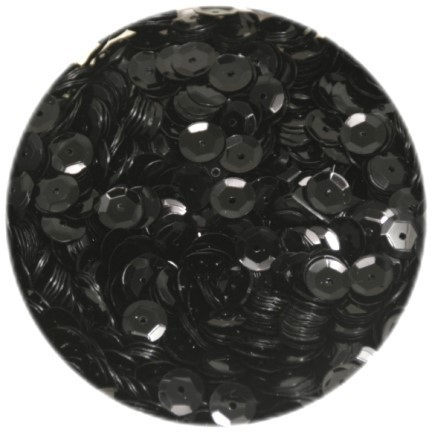 pailletten gew lbt 6mm standard schwarz 1400 st ck. Black Bedroom Furniture Sets. Home Design Ideas