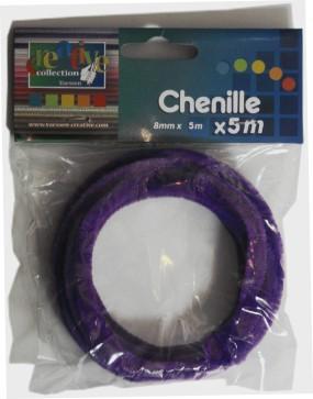 Biegepl Sch 8mm X 5m Violett Pfeifenreiniger Meterware