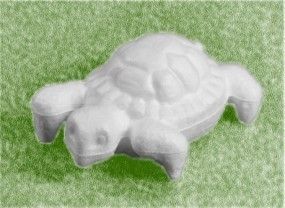 Styropor Schildkröte 13cm