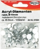 Acryl - Diamanten, 10mm, 85 St.