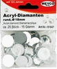 Acryl - Diamanten, 18mm, 25 St.