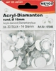 Acryl - Diamanten, 16mm, 30 St.