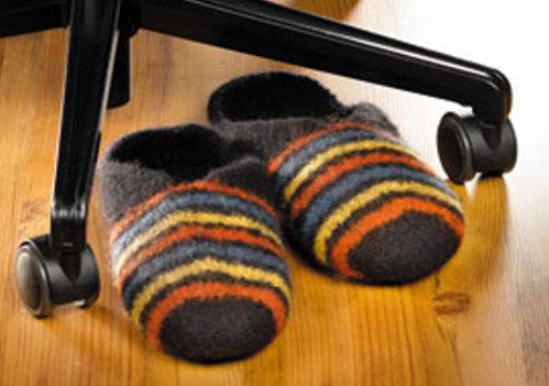 Hausschuhe stricken & verfilzen TOPP 6642 - von Friederike Pfund